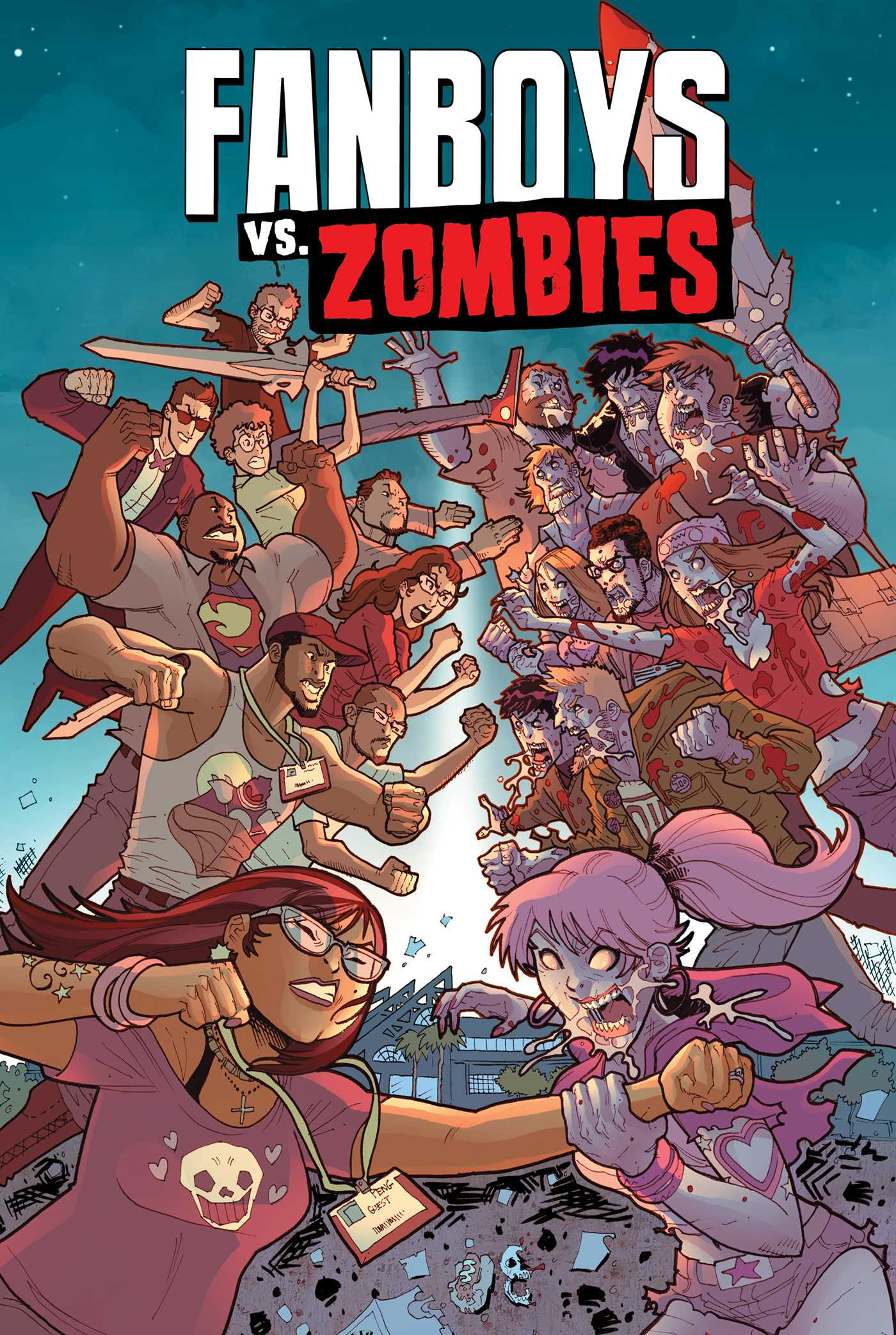 Fanboys vs zombies vol 5 9781608863952 hr
