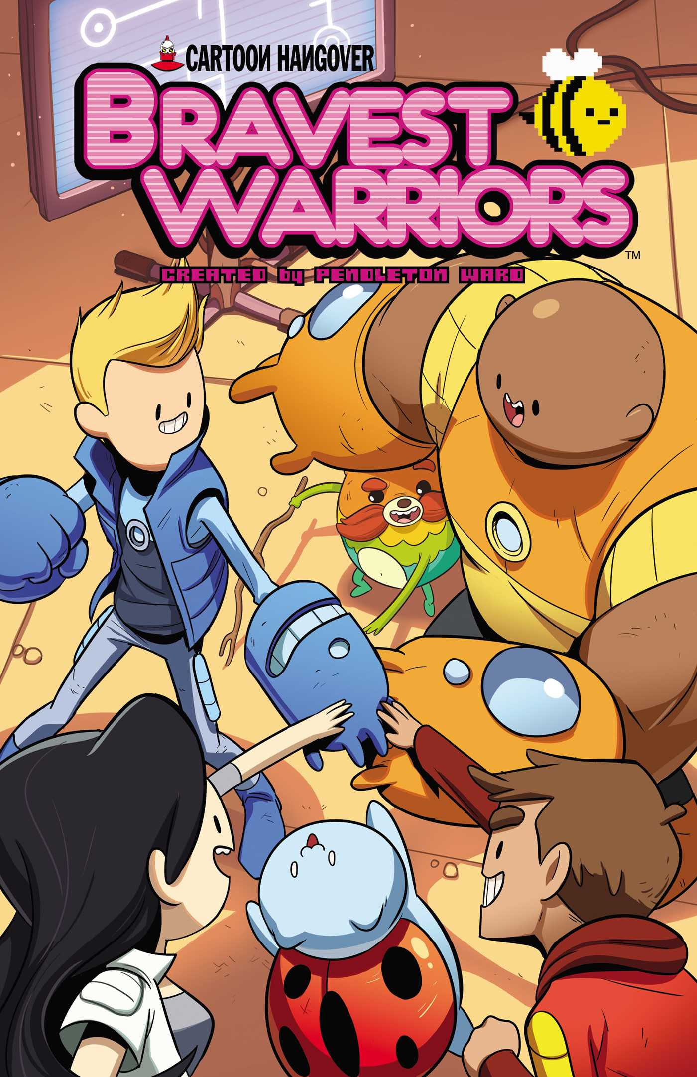 Bravest warriors vol 3 9781608863976 hr