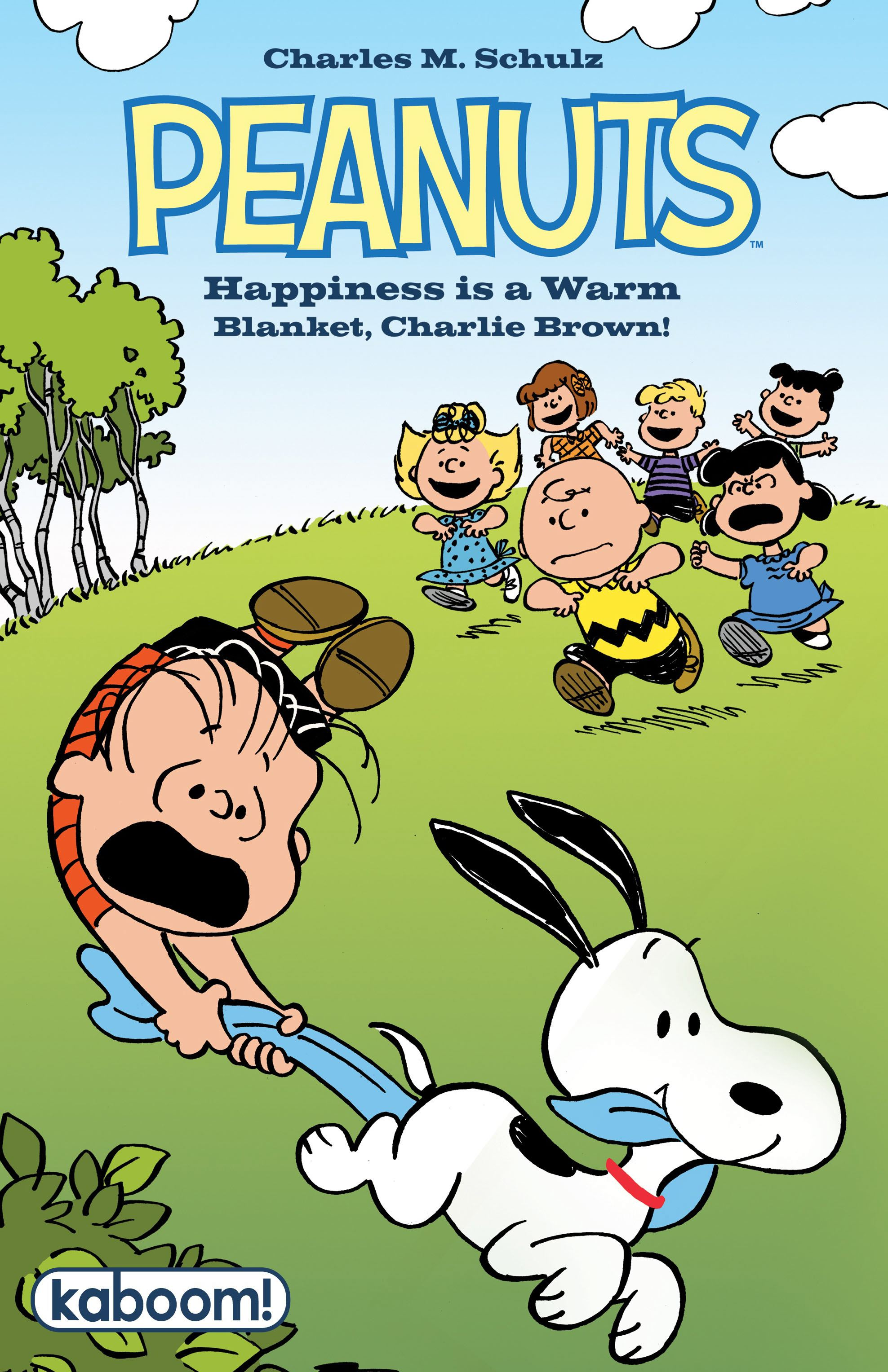 Peanuts happiness is a warm blanket charlie 9781608866816 hr