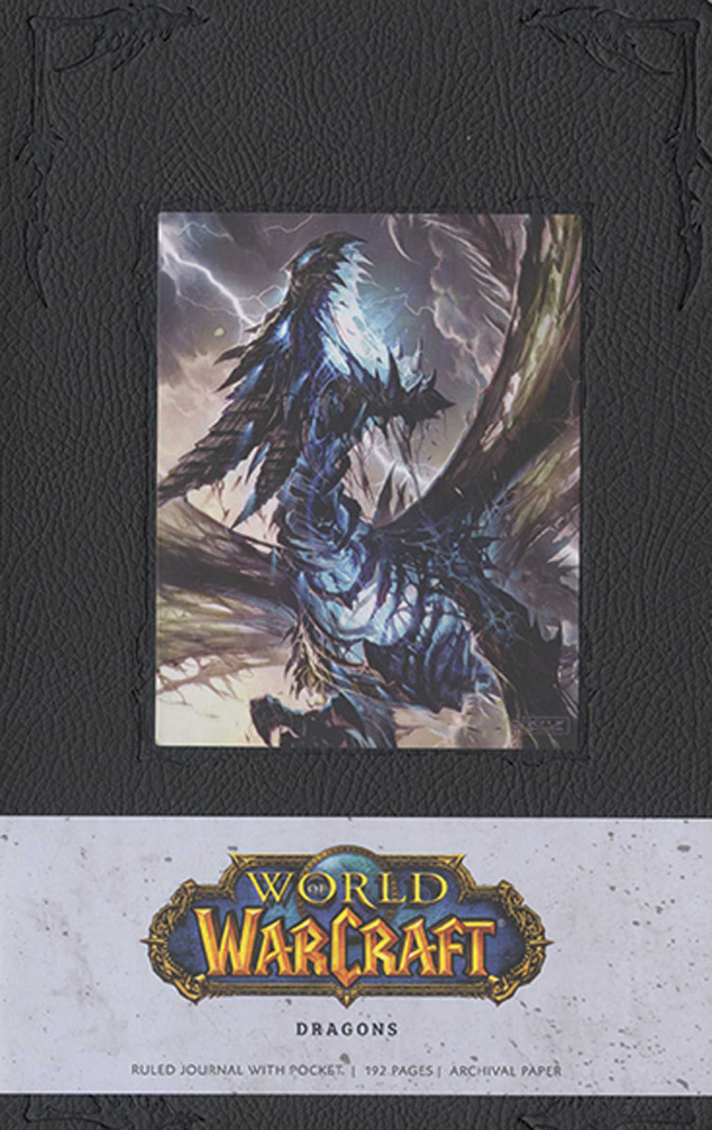 Book Cover Craft Quest : World of warcraft dragons hardcover ruled journal large