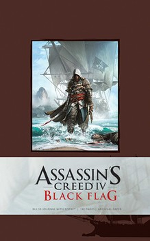 Assassin's Creed IV Black Flag Hardcover Ruled Journal
