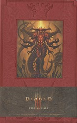 Diablo Burning Hells Hardcover Ruled Journal (Large)