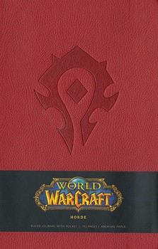 World of Warcraft Horde Hardcover Ruled Journal (Large)