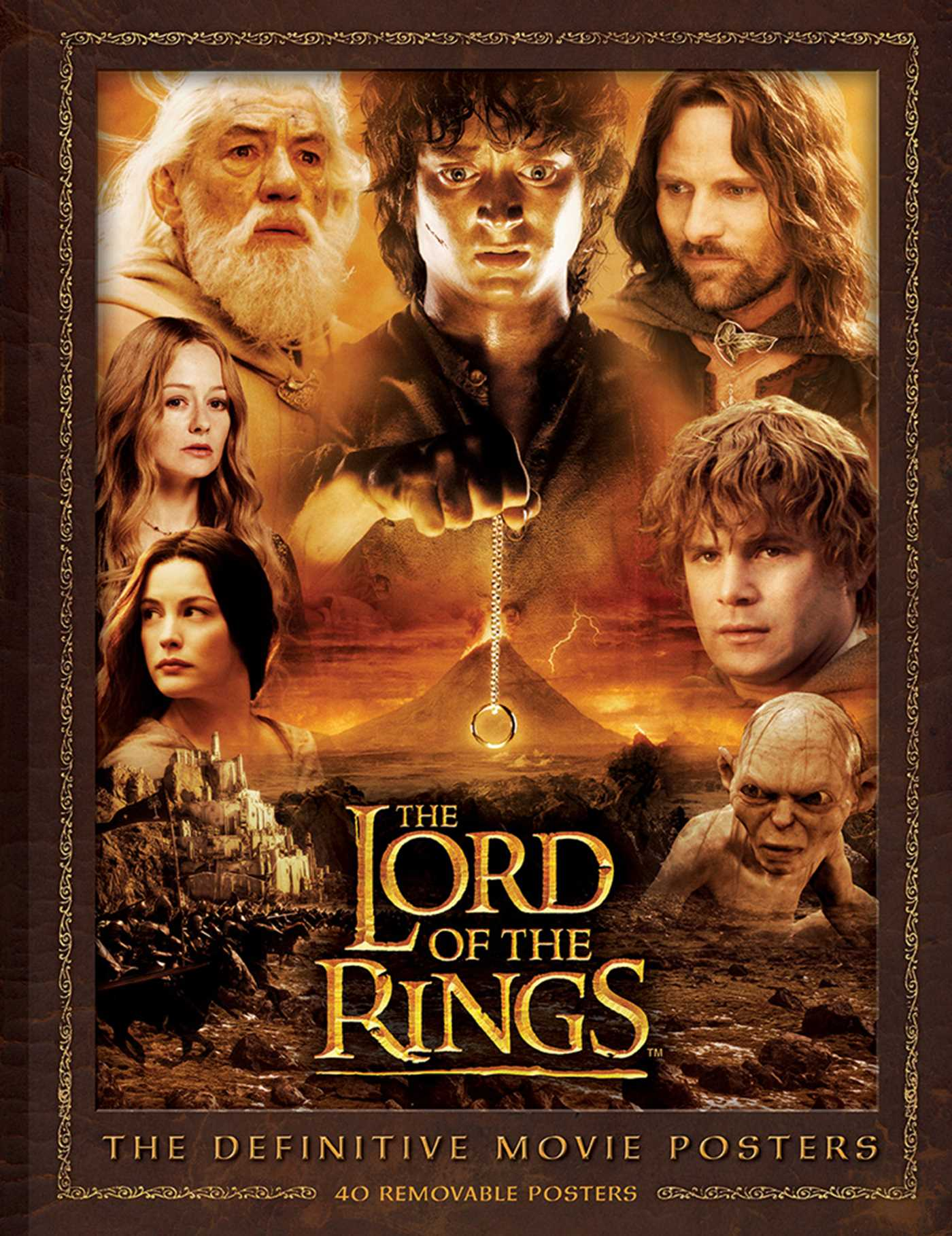 Lord Of The Rings Two Towers Movie Poster High Res