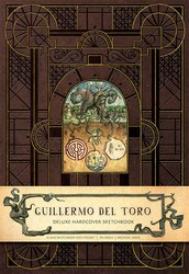 Guillermo del Toro Hardcover Blank Sketchbook
