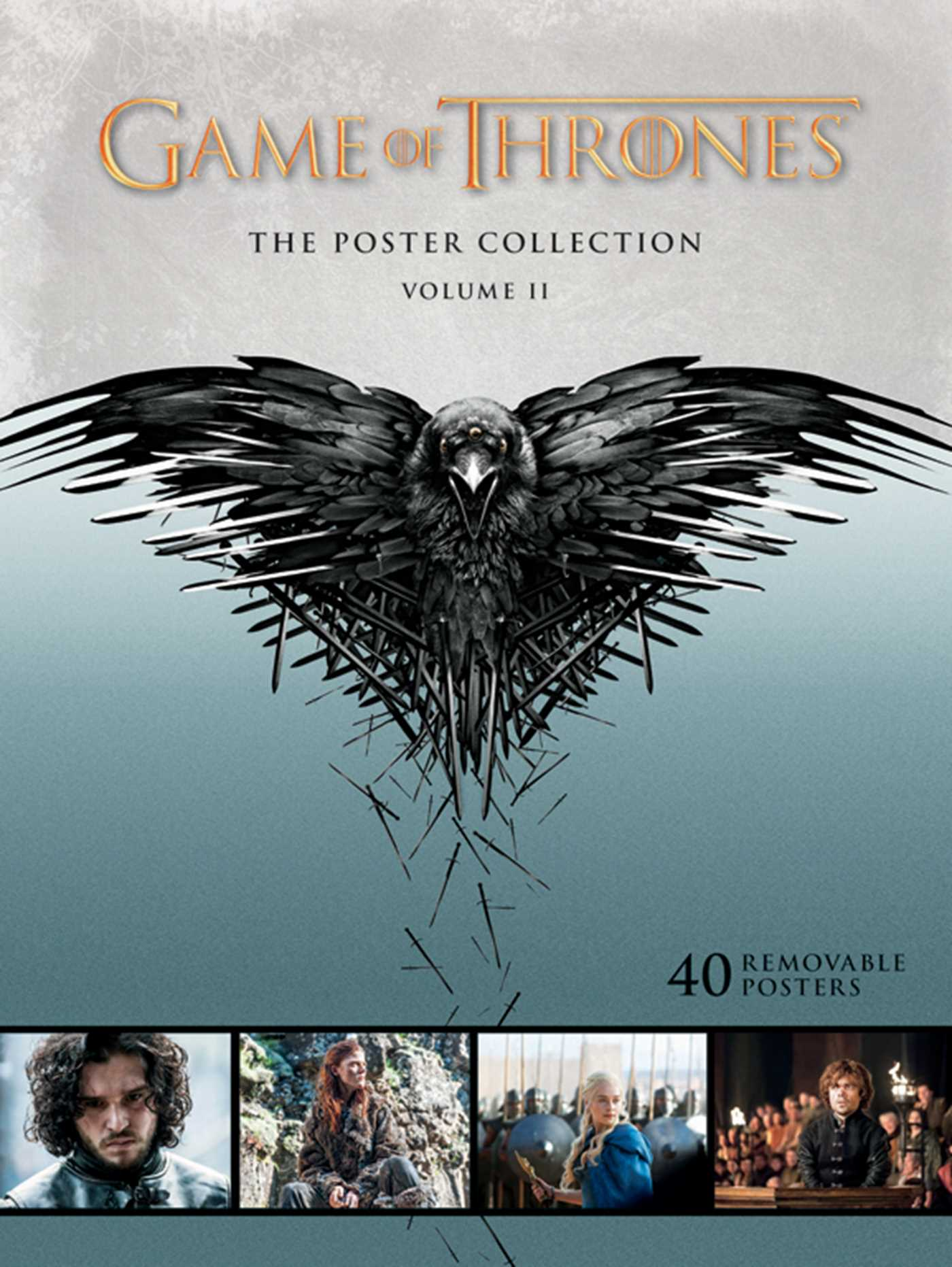 game of thrones the poster collection volume ii book by hbo official publisher page. Black Bedroom Furniture Sets. Home Design Ideas