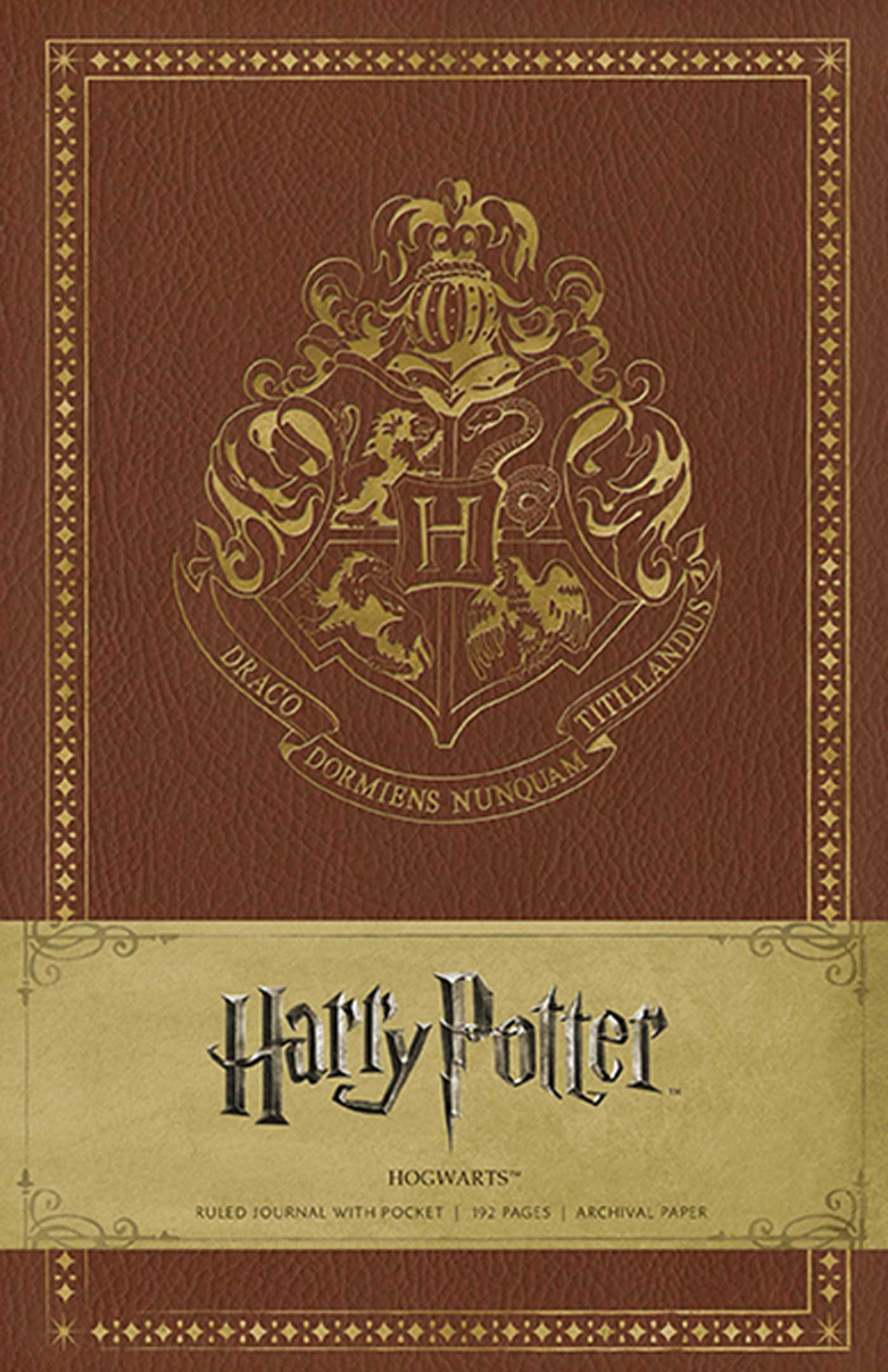 Harry Potter Book Images : Harry potter hogwarts hardcover ruled journal book by
