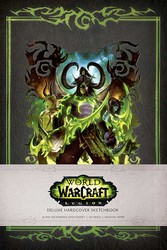 World of Warcraft: Legion Hardcover Blank Sketchbook