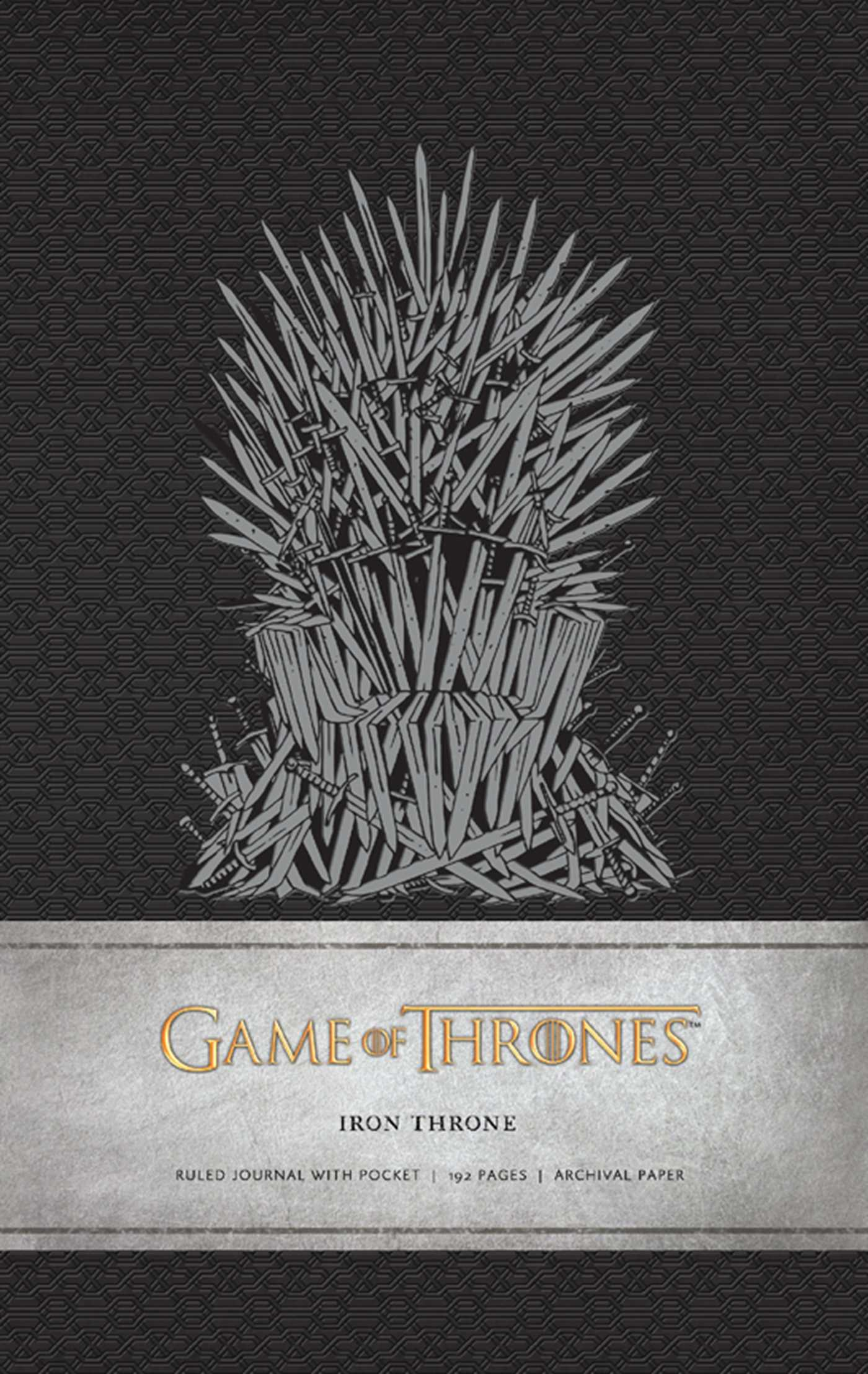 game thrones iron. Book Cover Image (jpg): Game Of Thrones: Iron Throne Hardcover Ruled Journal Thrones N