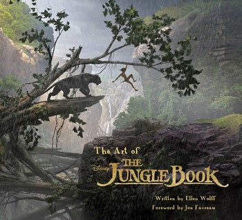 The art of the jungle book book by ellen wolff official the art of the jungle book fandeluxe Images