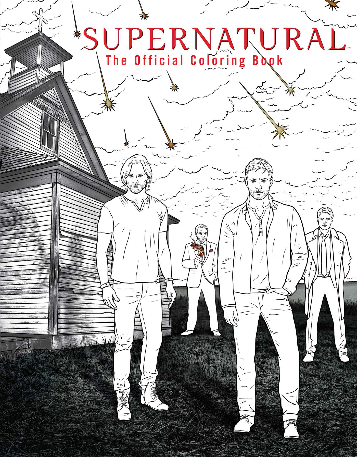 Supernatural the official coloring book 9781608878185 hr