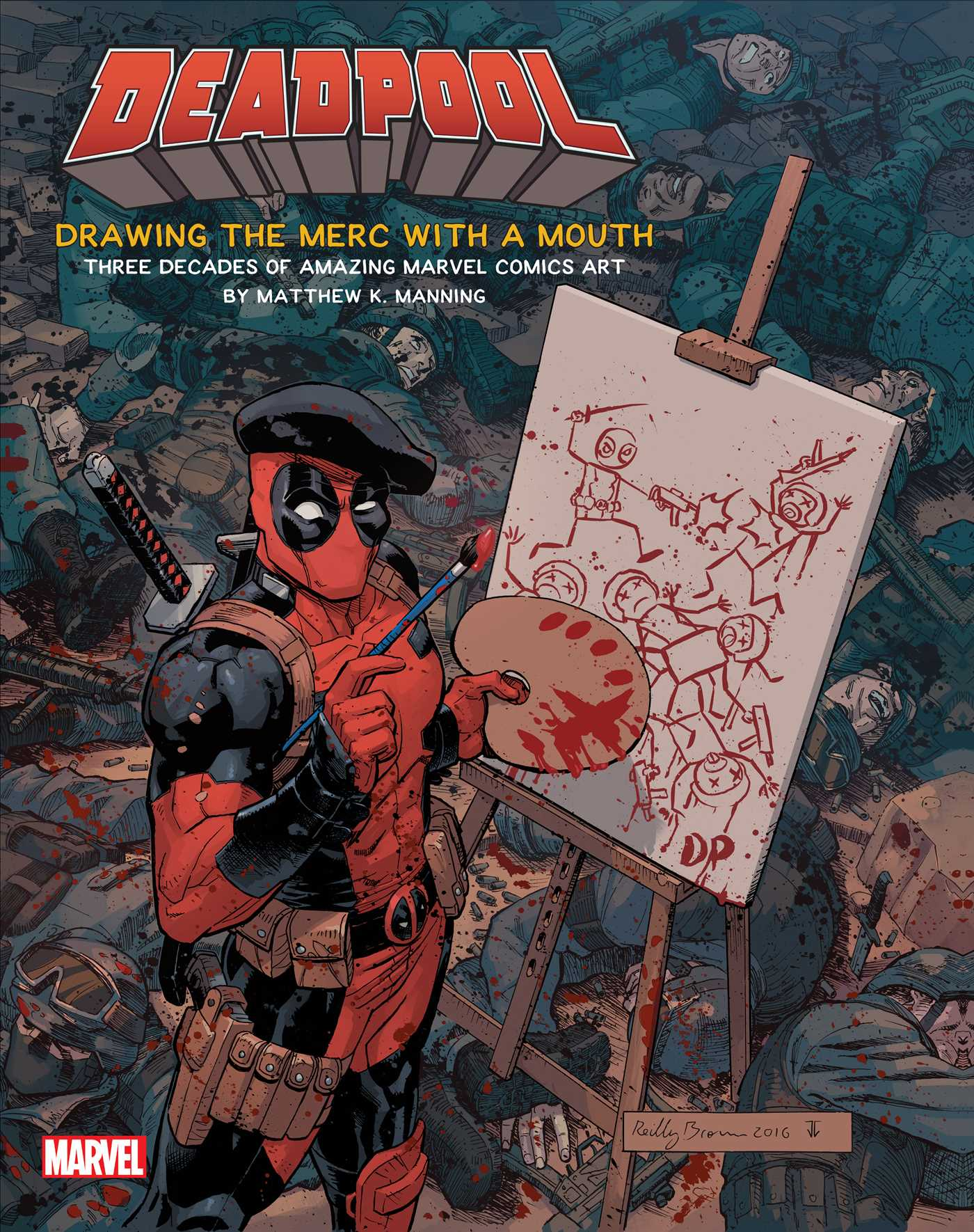 De deadpool drawing pages - Deadpool Drawing The Merc With A Mouth 9781608879182 Hr
