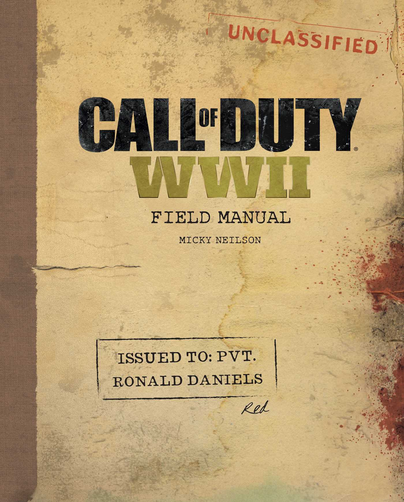 Call of duty wwii field manual 9781608879342 hr
