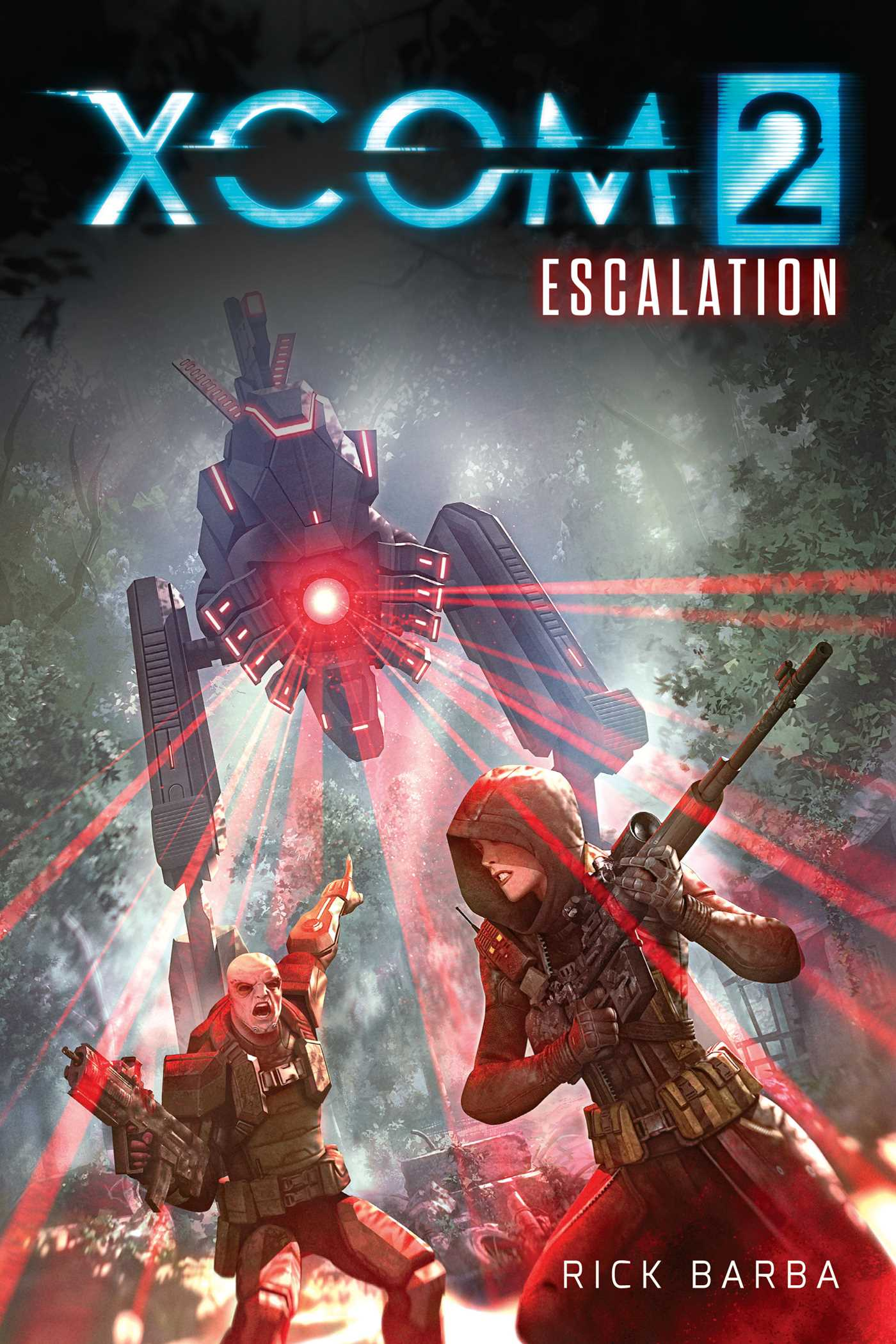 xcom 2 escalation book by rick barba insight editions official publisher page simon. Black Bedroom Furniture Sets. Home Design Ideas