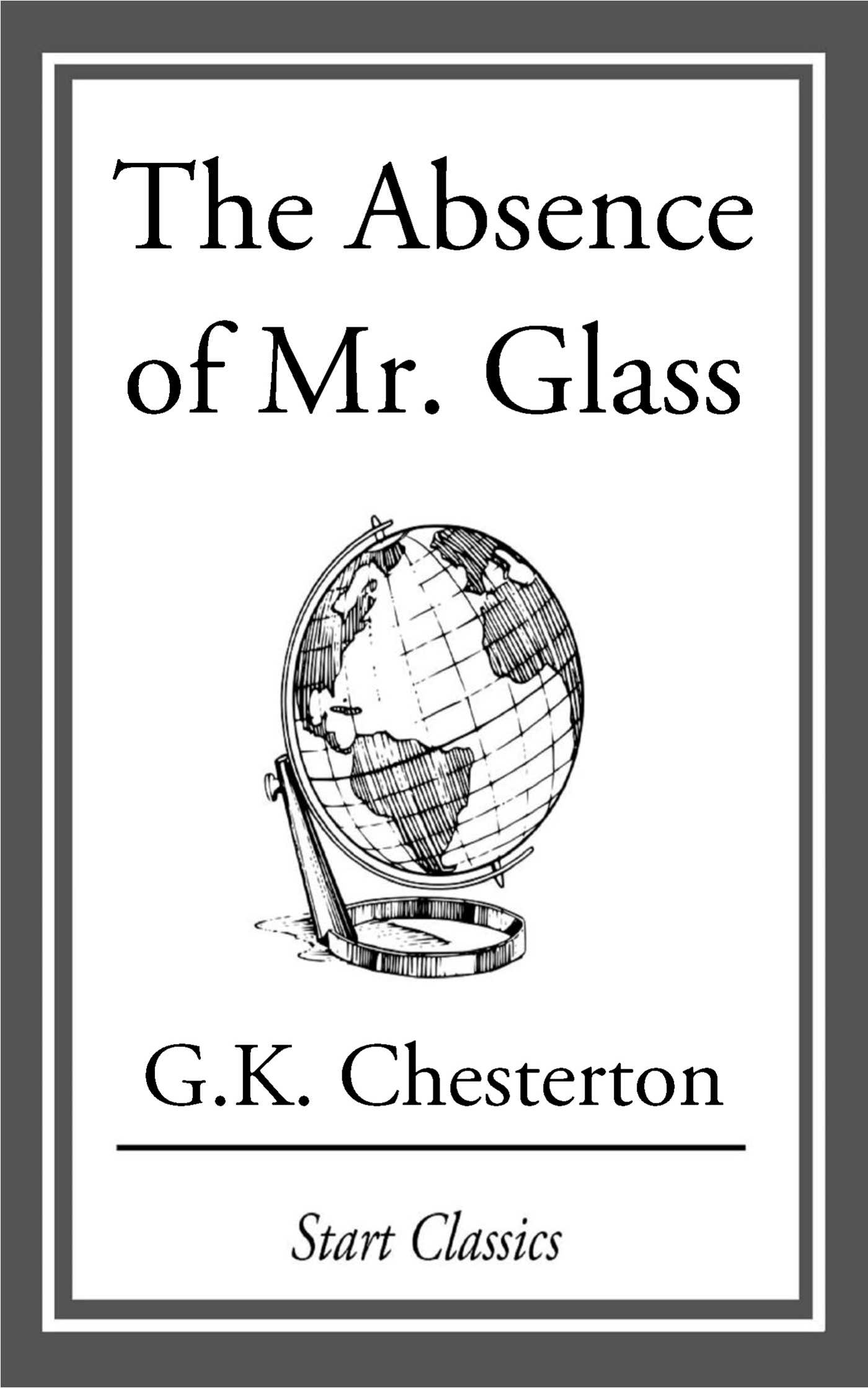 The Absence Of Mr Glass 9781609773564 Hr