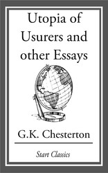 utopia of usurers and other essays ebook by g k chesterton  utopia of usurers and other essays