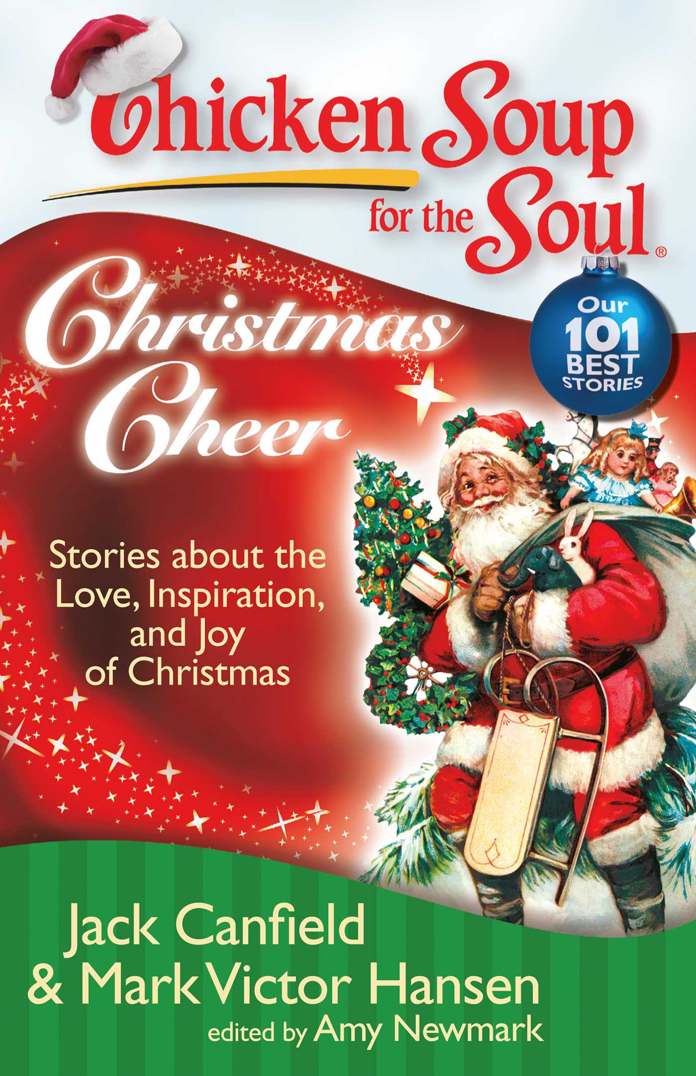 Chicken soup for the soul christmas cheer 9781611591378 hr