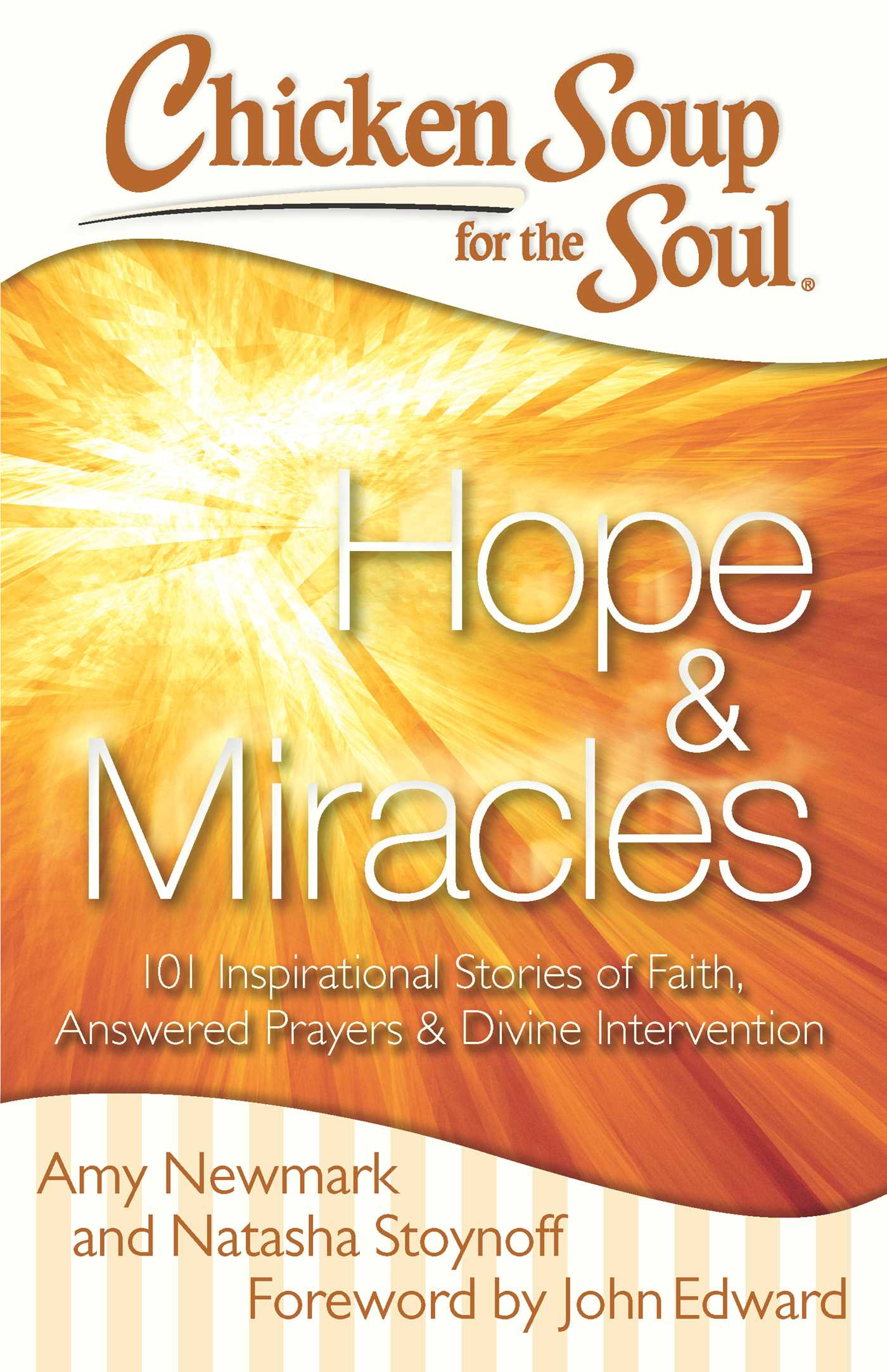 Chicken soup for the soul hope miracles 9781611592467 hr