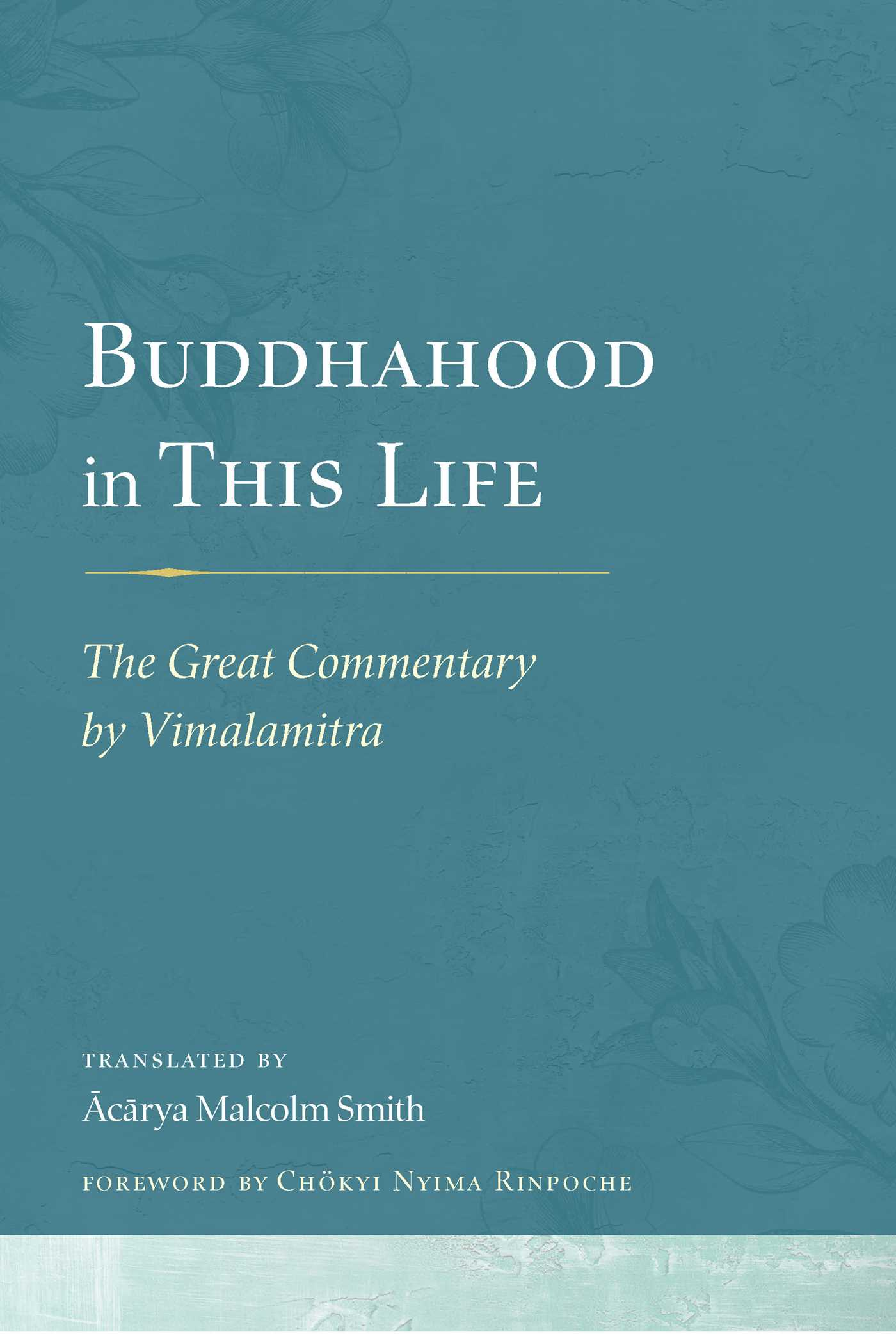Buddhahood in this life 9781614293453 hr