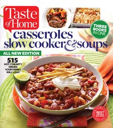 Taste of Home Casseroles, Slow Cooker & Soups