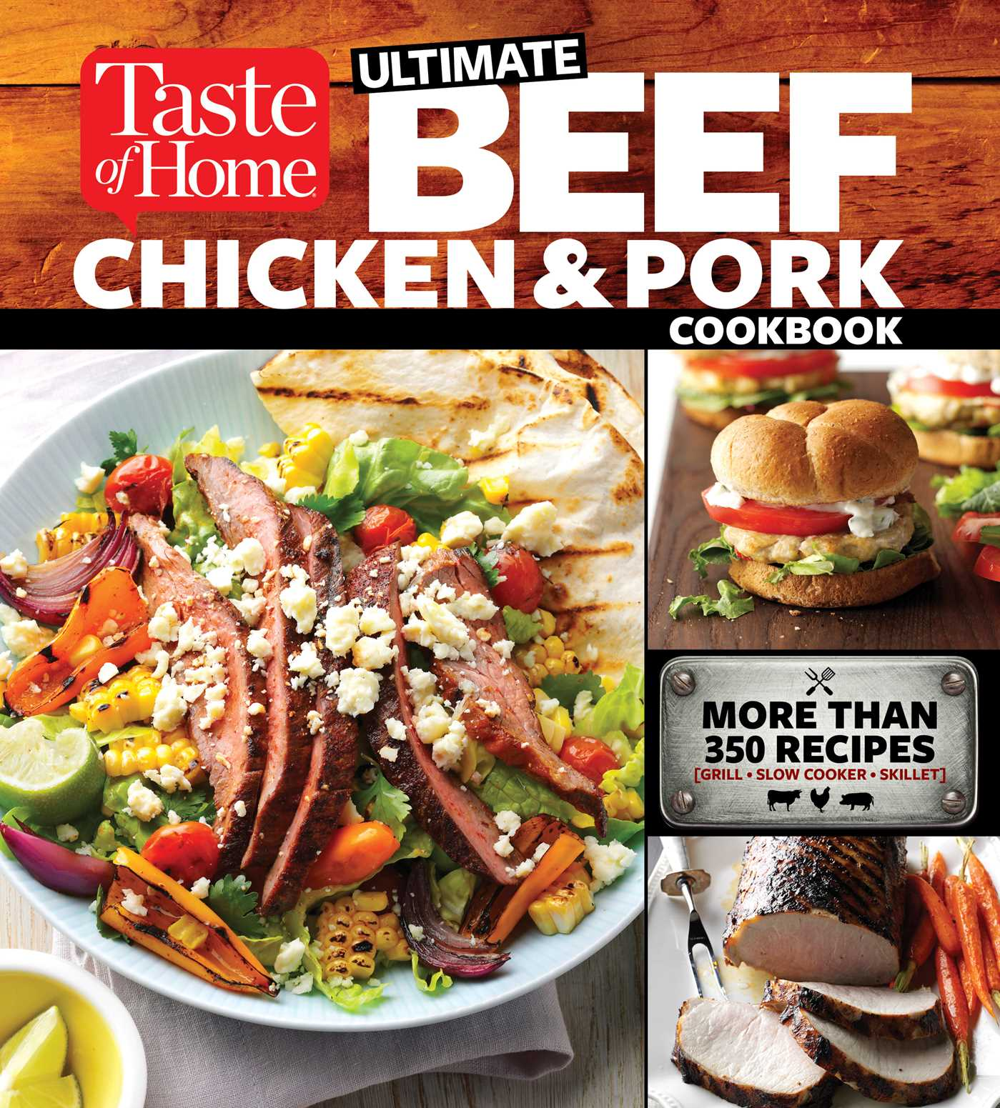 Taste of home ultimate beef chicken and pork cookbook book by book cover image jpg taste of home ultimate beef chicken and pork cookbook forumfinder Image collections
