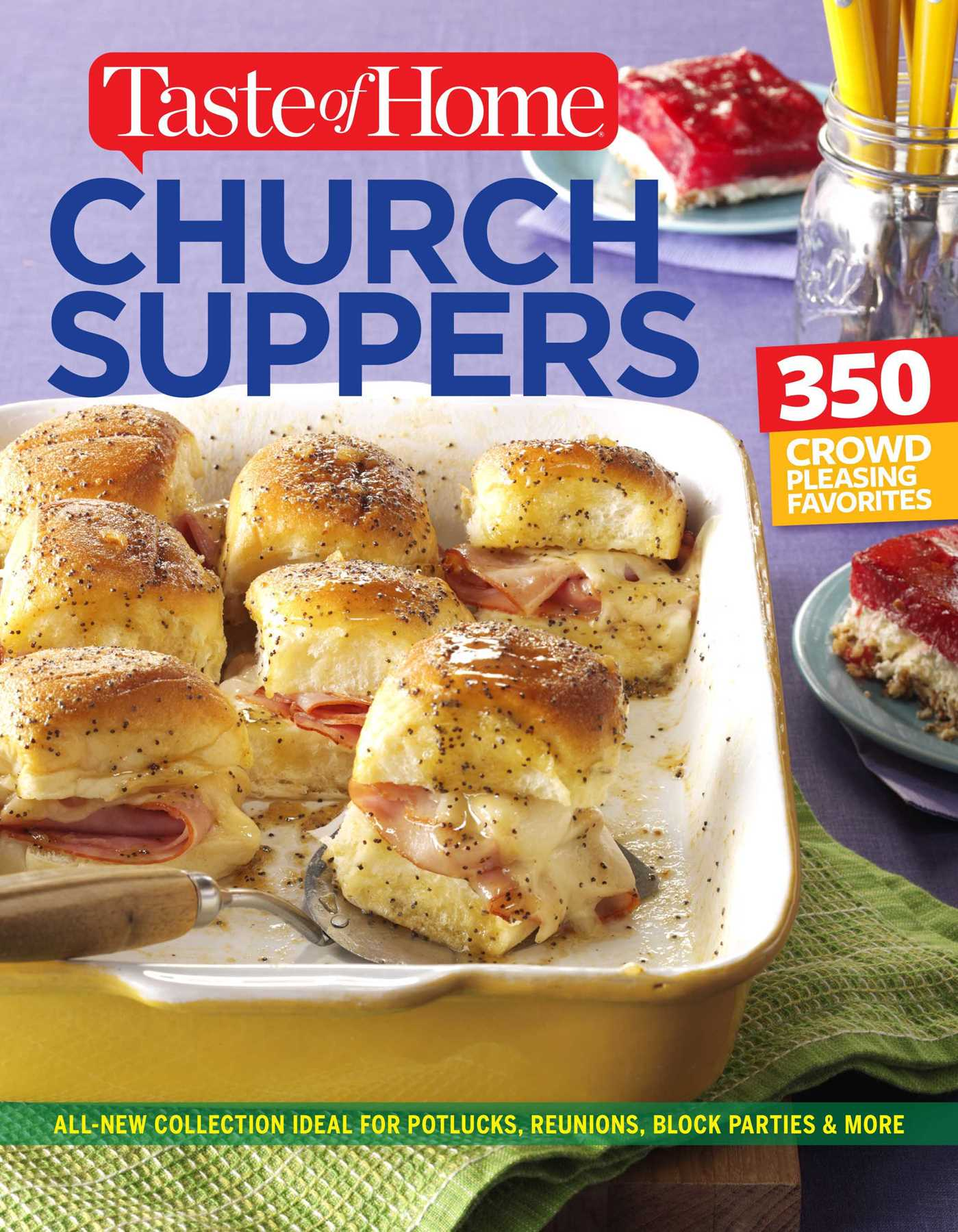 Taste of home church supper cookbook new edition 9781617656521 hr