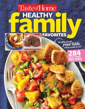 Taste of Home Healthy Family Favorites Cookbook