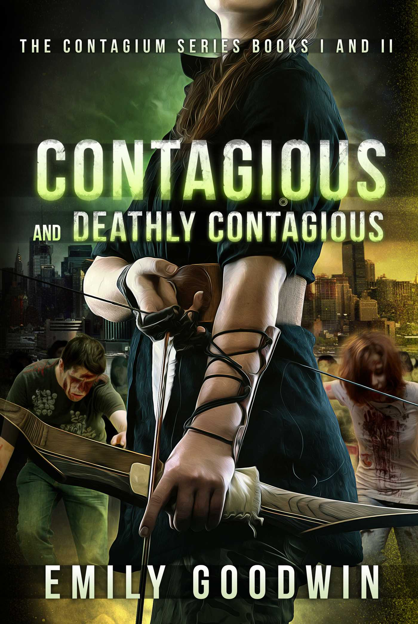 Contagious And Deathly Contagious: The Contagium Series (book One And Book  Two)