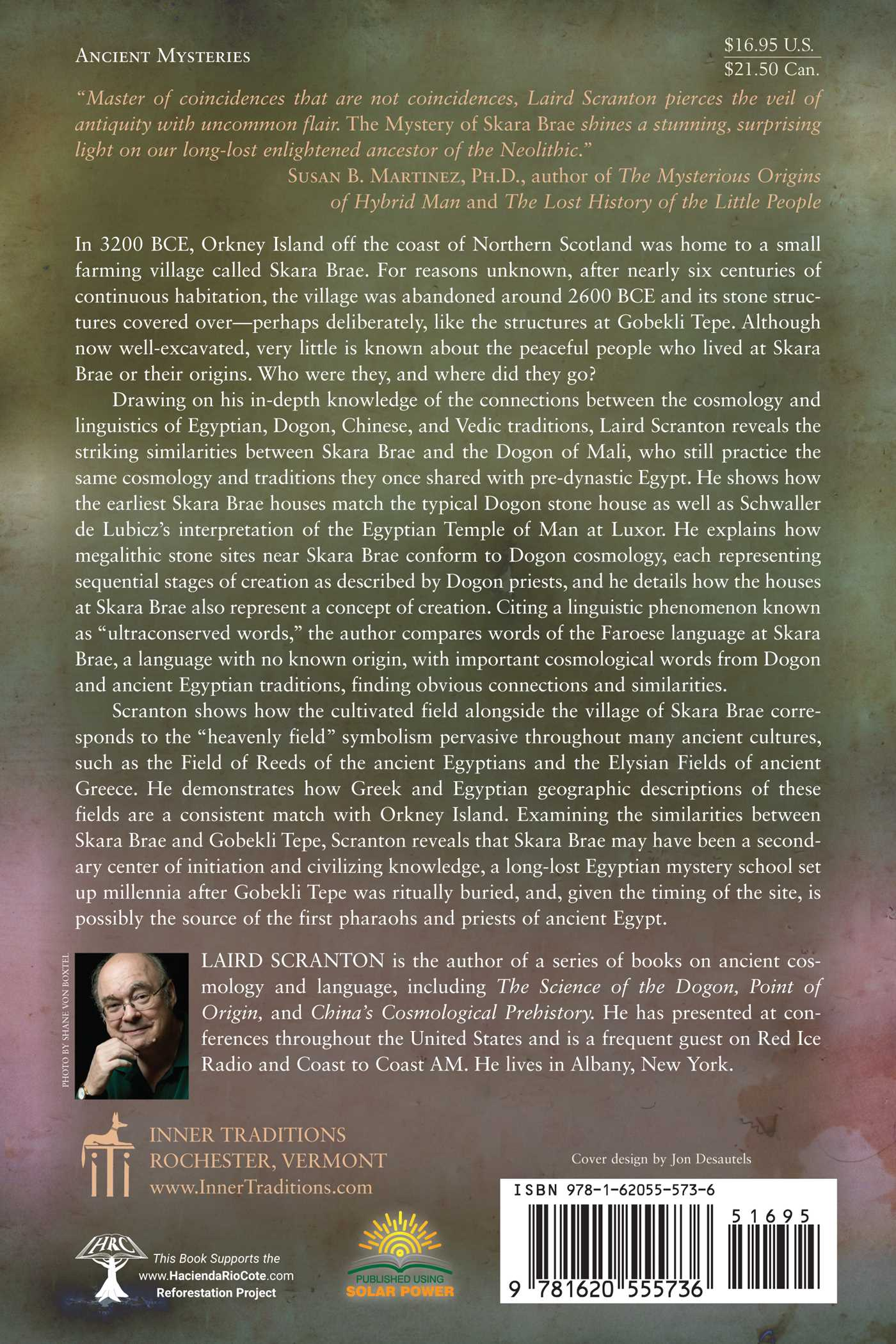 The mystery of skara brae book by laird scranton official the mystery of skara brae 9781620555736 hr back biocorpaavc