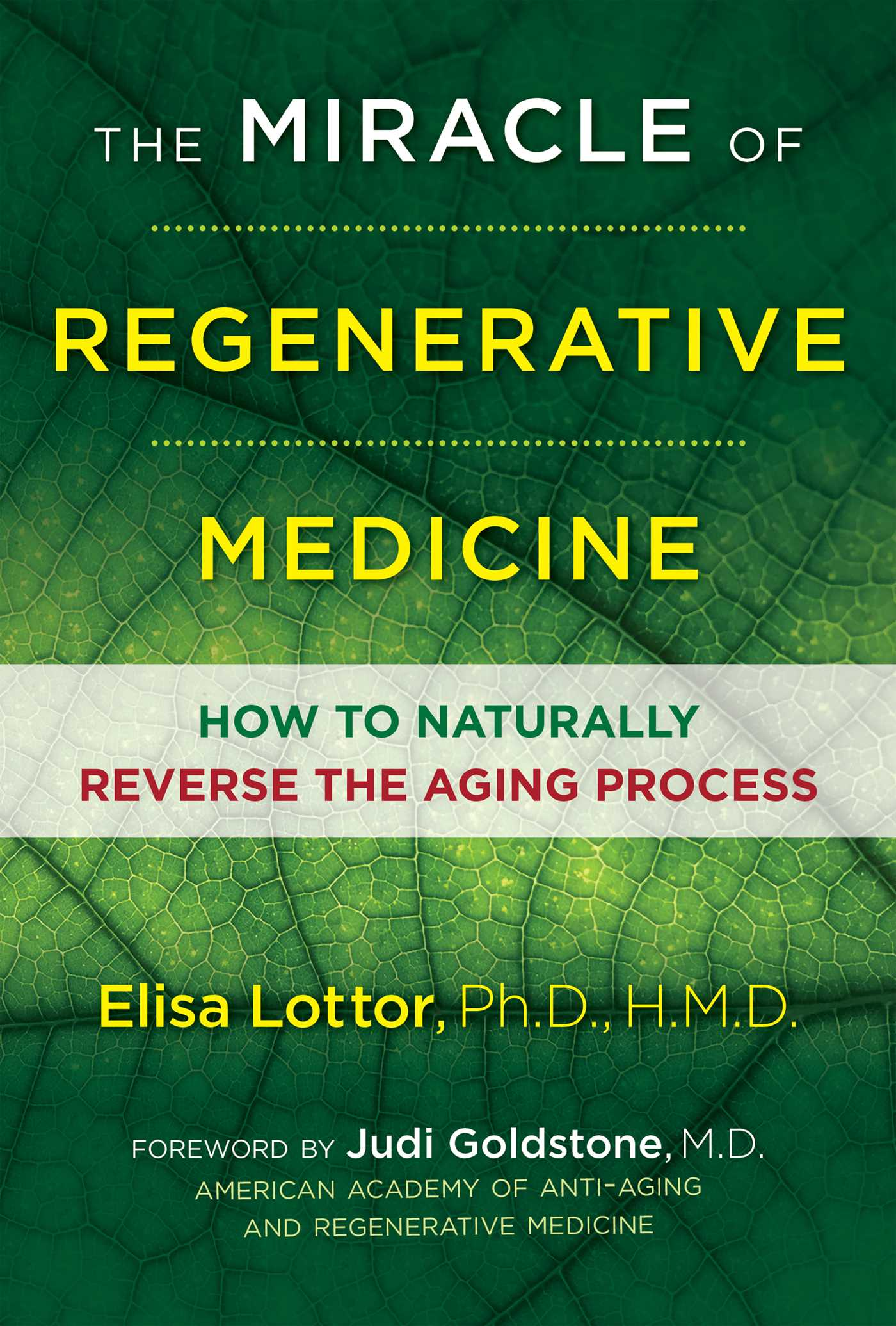 The miracle of regenerative medicine 9781620556047 hr