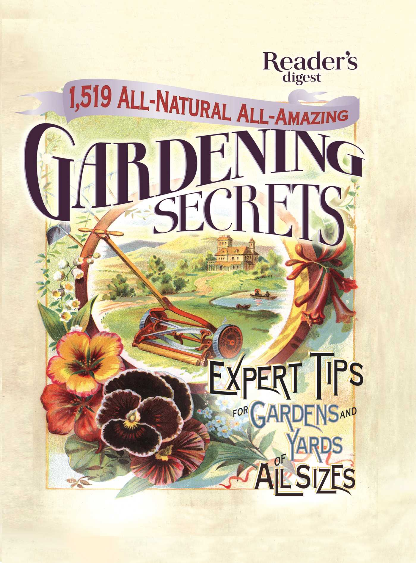 1519 all natural all amazing gardening secrets 9781621452072 hr