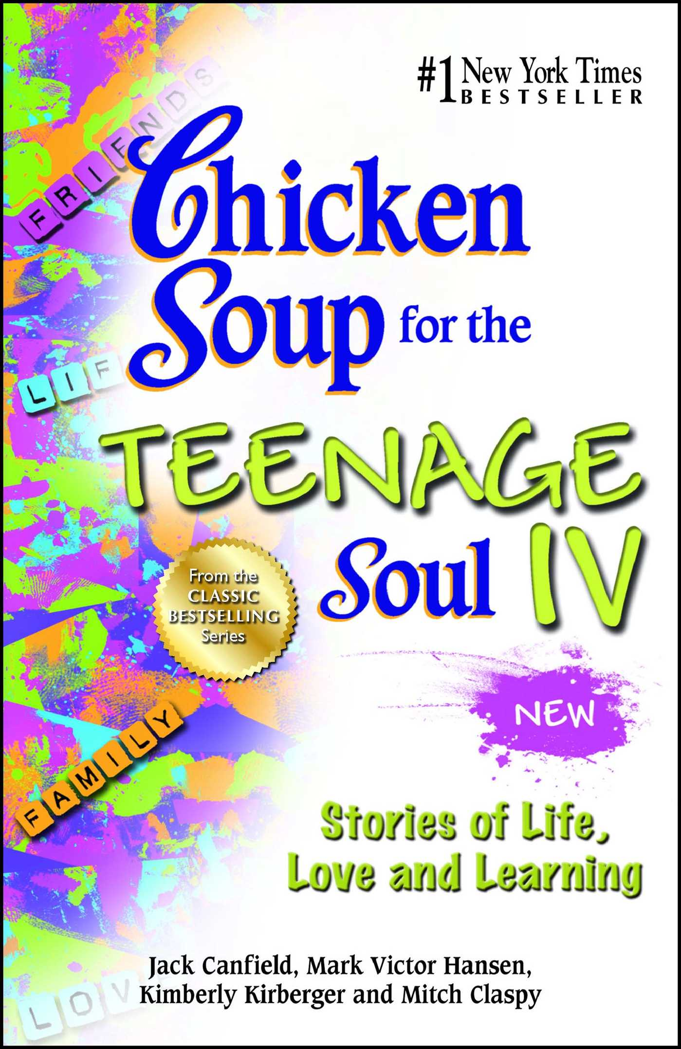 chicken soup for the soul essays Essay preview more ↓ chicken soup for the teenage soul chicken soup for  the teenage soul is the first of seven editions of the chicken soupseries.