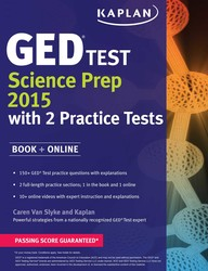 Kaplan GED Test Science Prep 2015