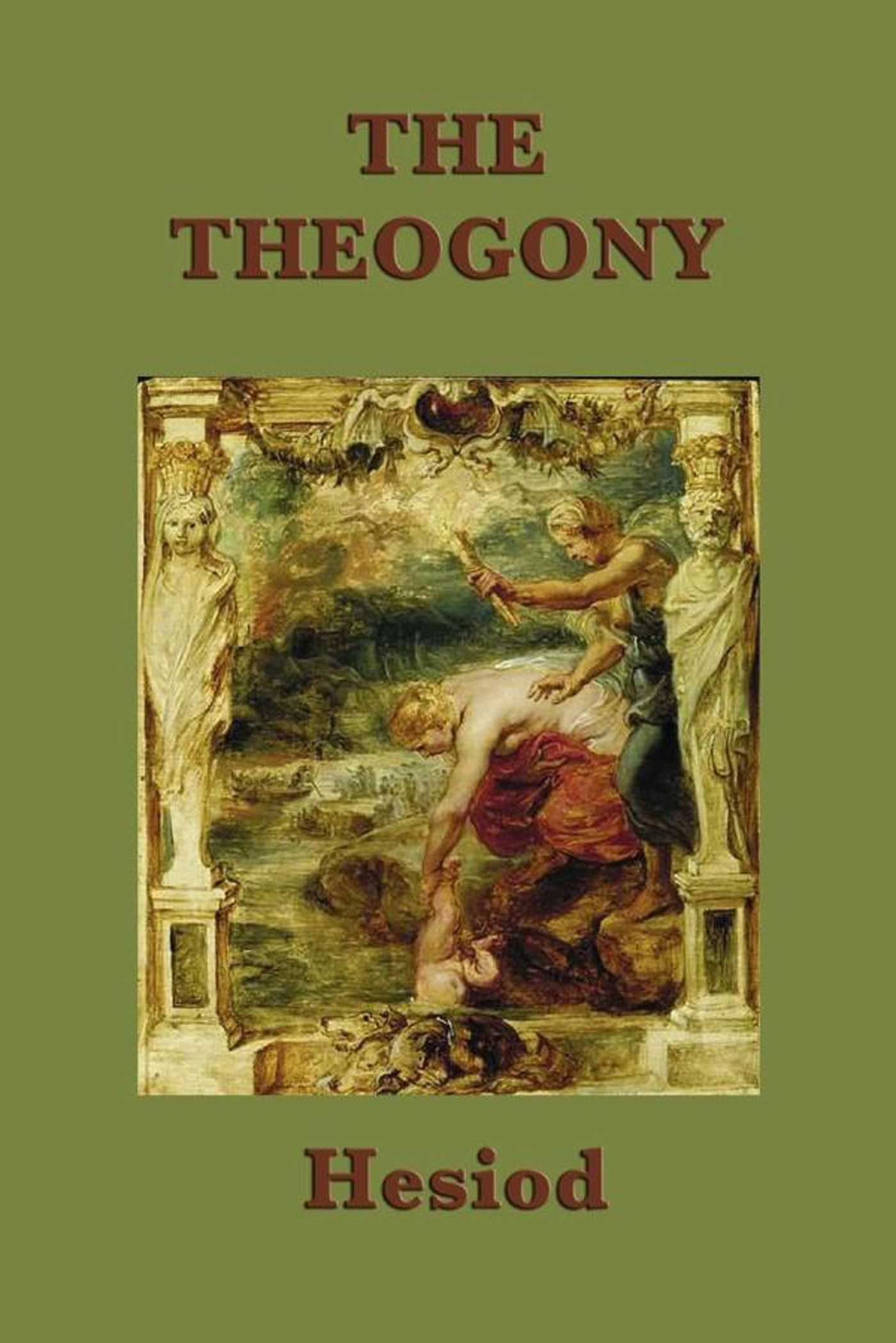 major conflict in theogony