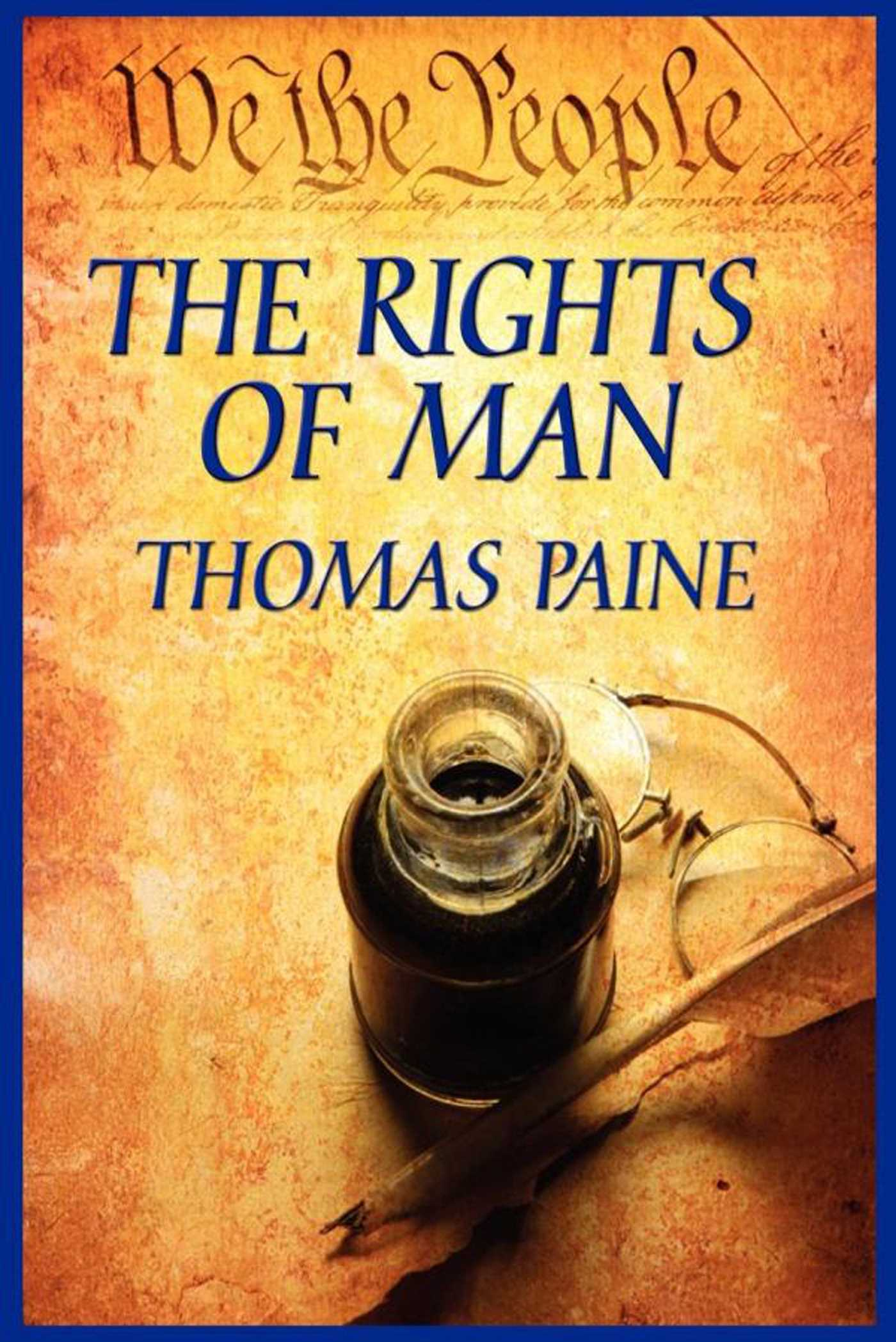 Thomas paine rights of man essay writer