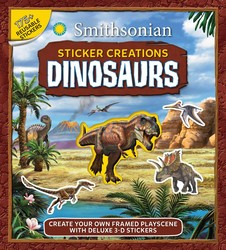 Smithsonian Sticker Creations: Dinosaurs