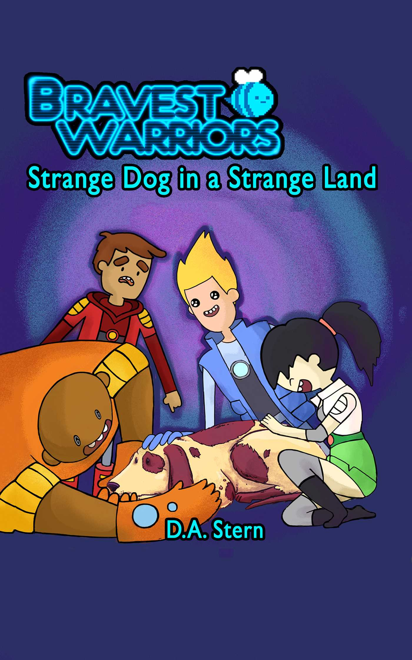 Bravest warriors strange dog in a strange land 9781627260398 hr