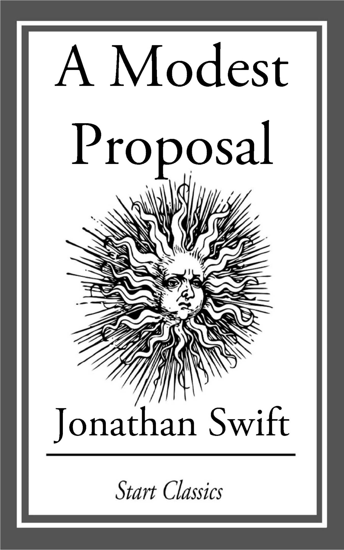 "the irony in a modest proposal by jonathan swift Free essay: ""a modest proposal"" is an essay written by jonathan swift as a reaction to the social problem faced by the irish in 1720's swift's daring dark."