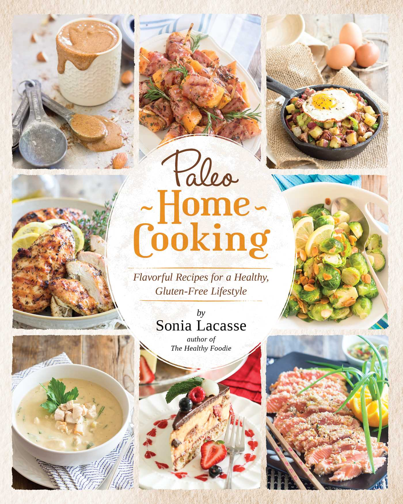 Modern Recipe Book Cover : Paleo home cooking book by sonia lacasse official