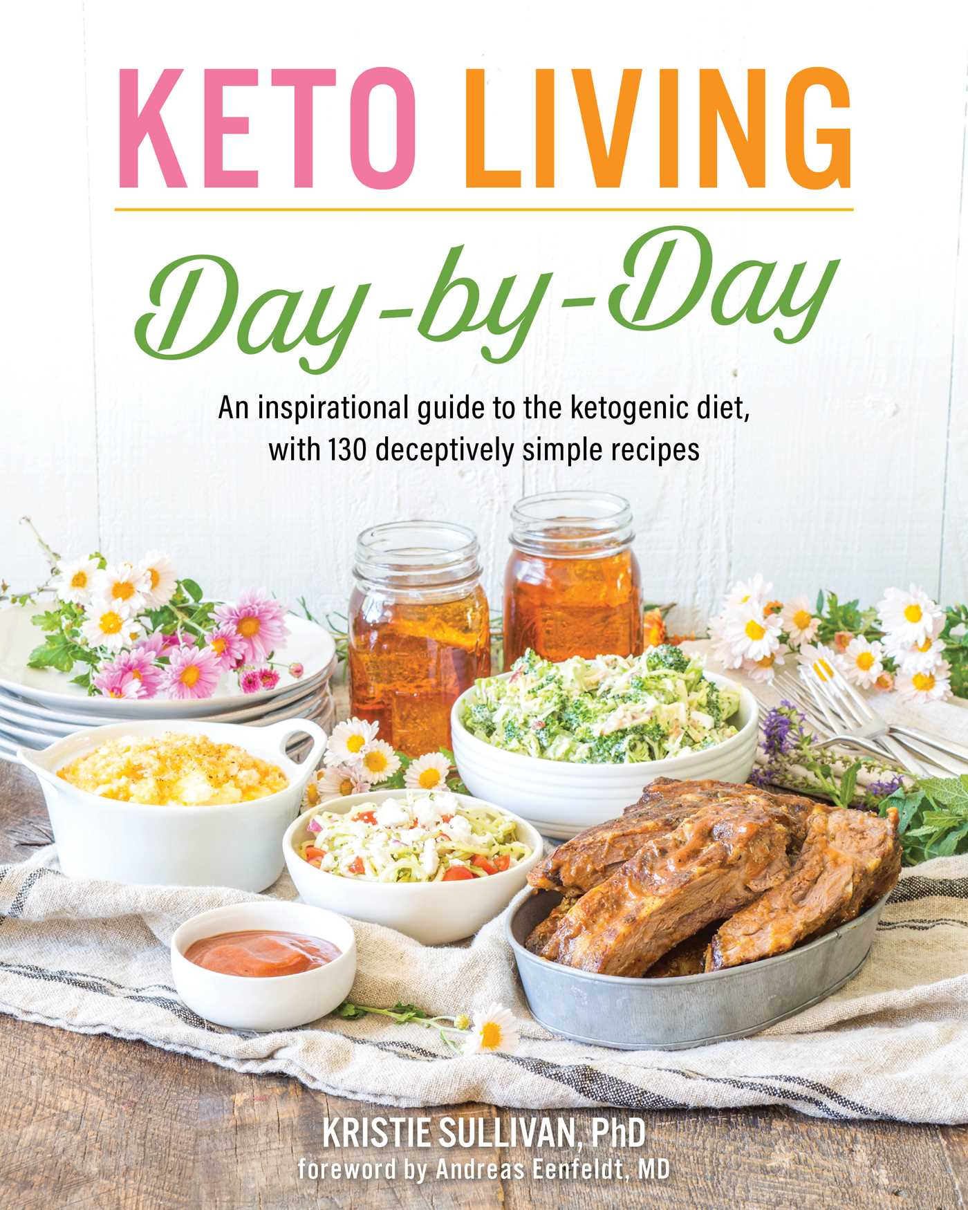 Keto living day by day book by kristie sullivan andreas eenfeldt keto living day by day 9781628602722 hr forumfinder Image collections