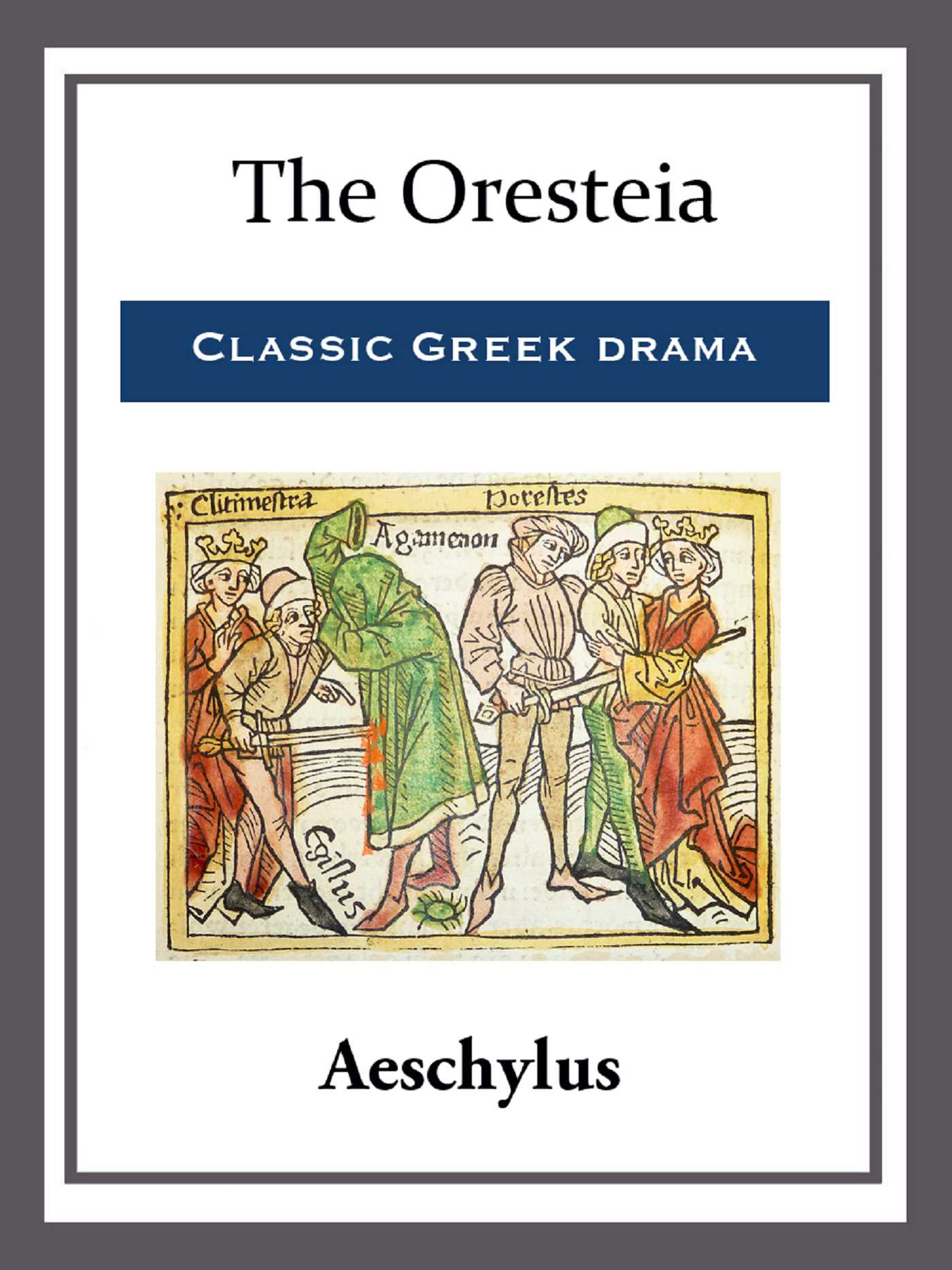 an analysis of darkness and light imagery in the oresteia by aeschylus