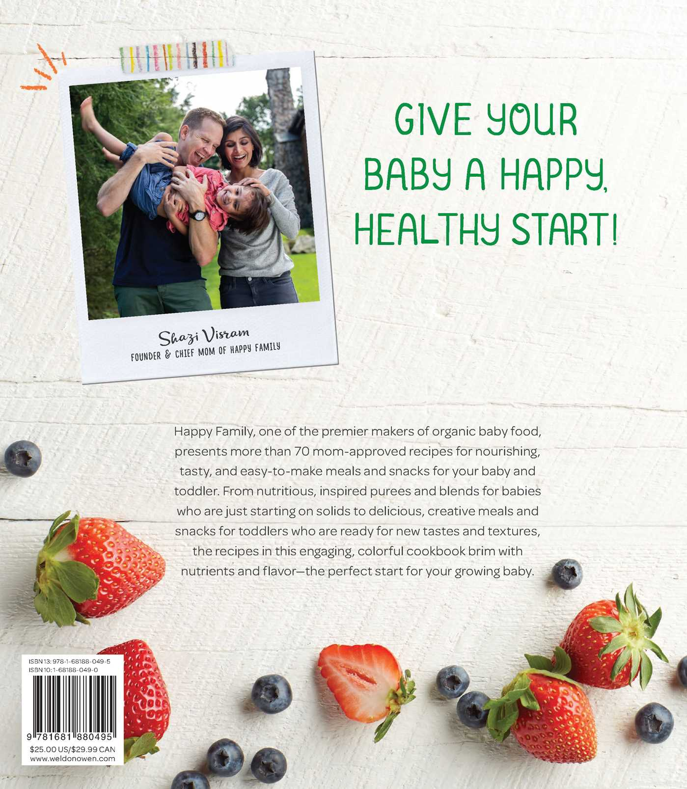 The happy family organic superfoods cookbook for baby toddler 9781681880495 hr back