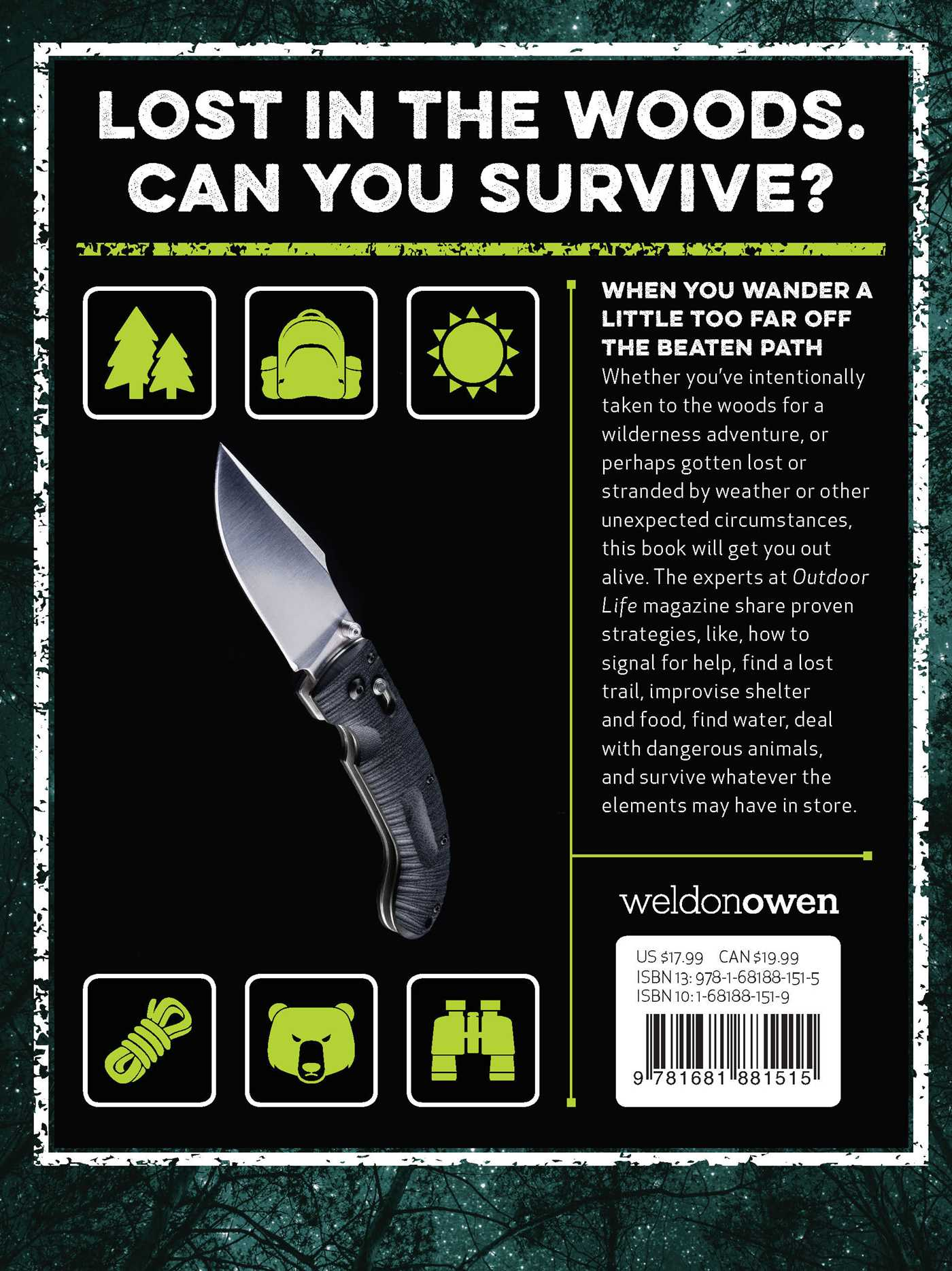 The ultimate wilderness survival handbook 9781681881515 hr back