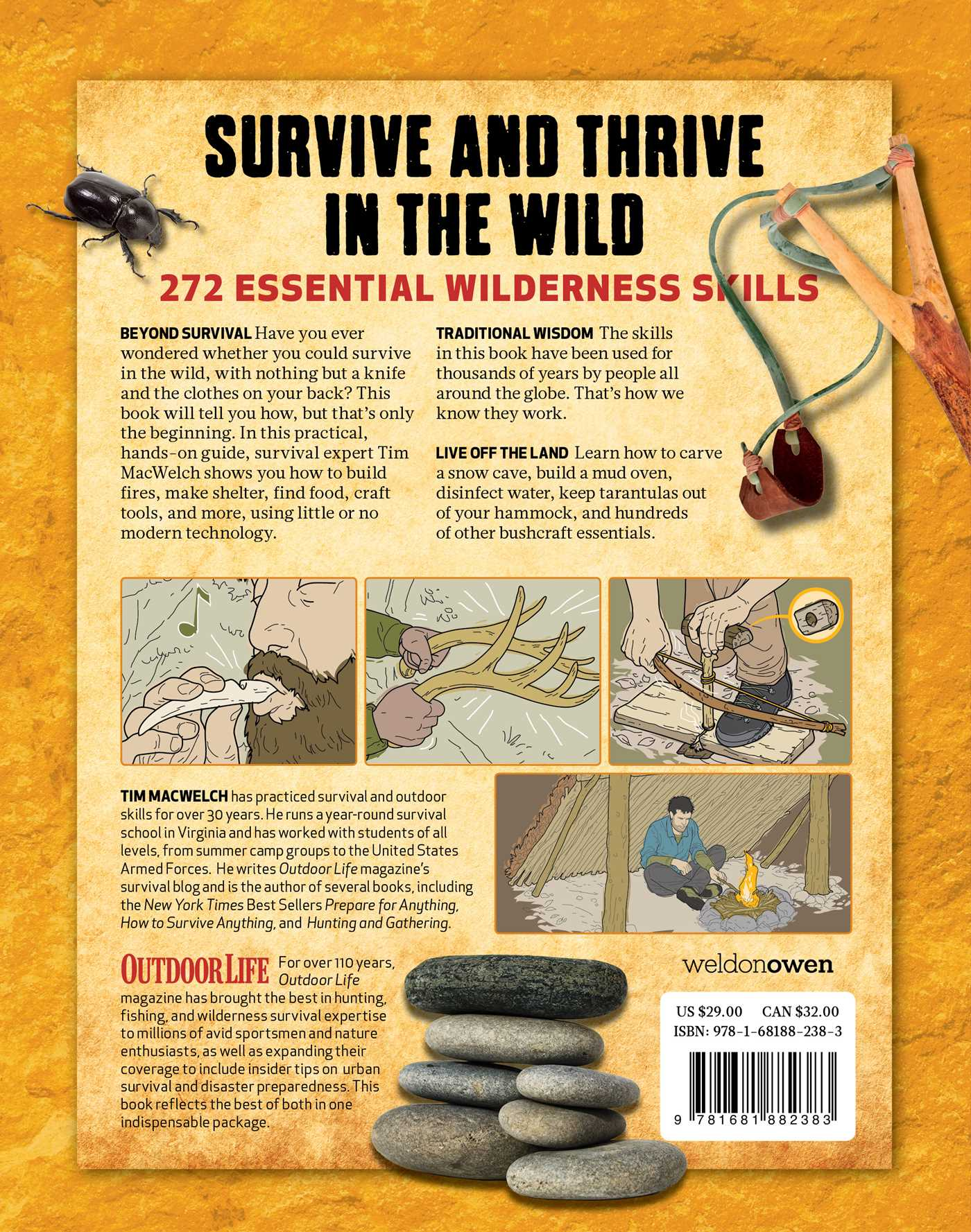 The ultimate bushcraft survival manual 9781681882383 hr back