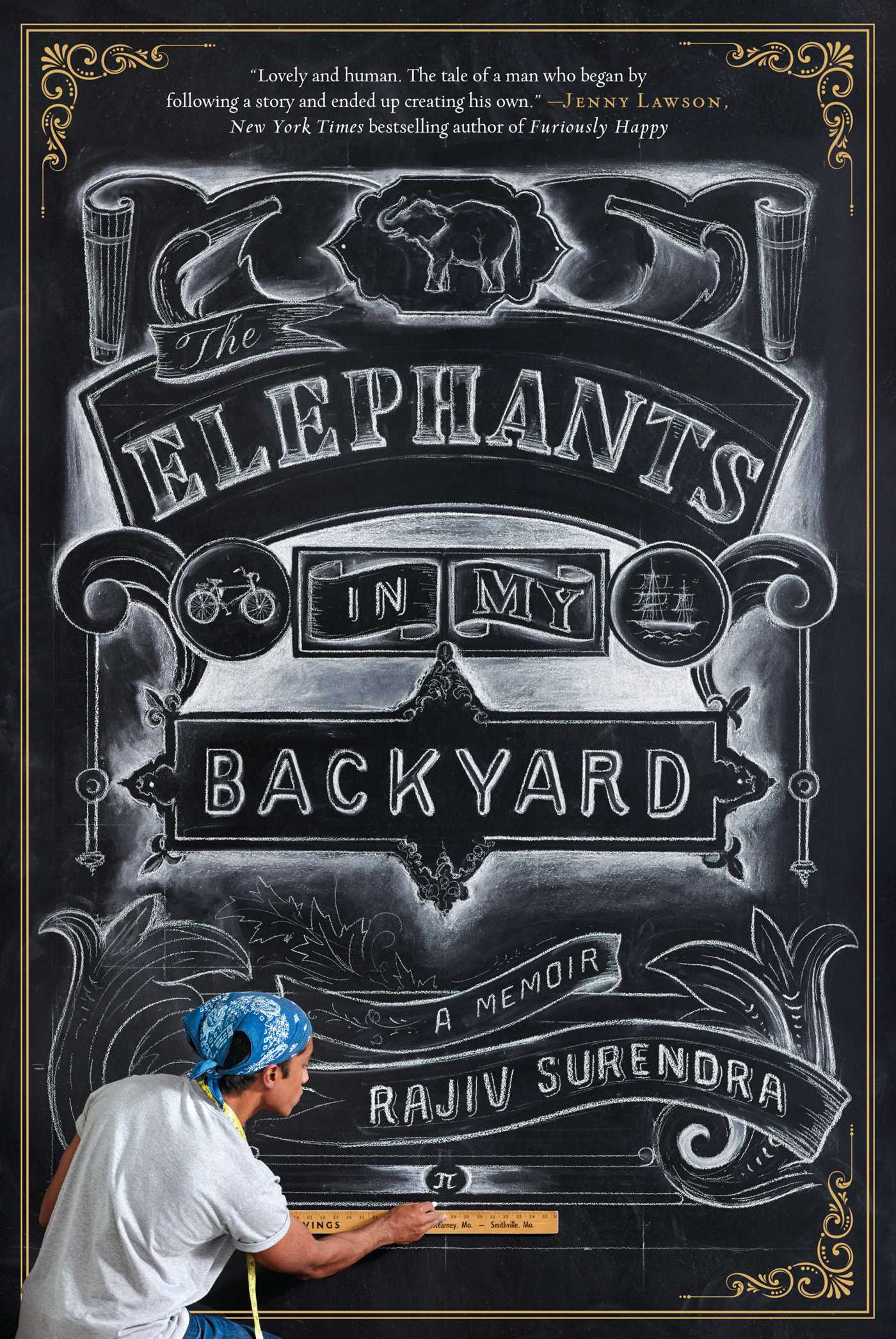 the elephants in my backyard book by rajiv surendra official