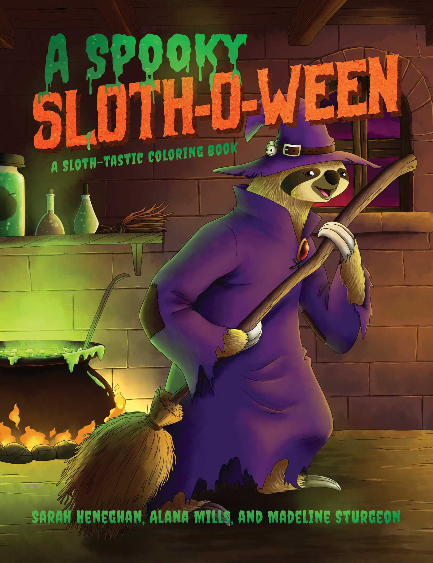 A Spooky Sloth-O-Ween | Book by Sarah Heneghan | Official Publisher ...