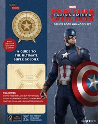 IncrediBuilds: Marvel's Captain America: Civil War Deluxe Book and Model Set