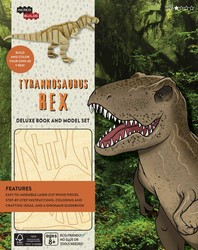 IncrediBuilds: Tyrannosaurus Rex Deluxe Book and Model Set
