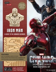 IncrediBuilds: Marvel's Captain America: Civil War: Iron Man Signature Series Book and Model Set