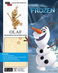 IncrediBuilds: Disney Frozen: Olaf Deluxe Book and Model Set